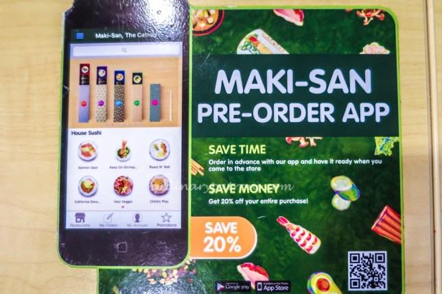 Order online Maki-San