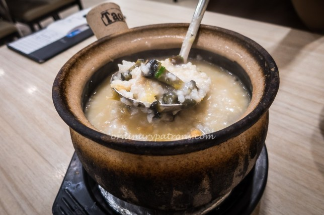 A-One Claypot Porridge Kallang Wave Mall