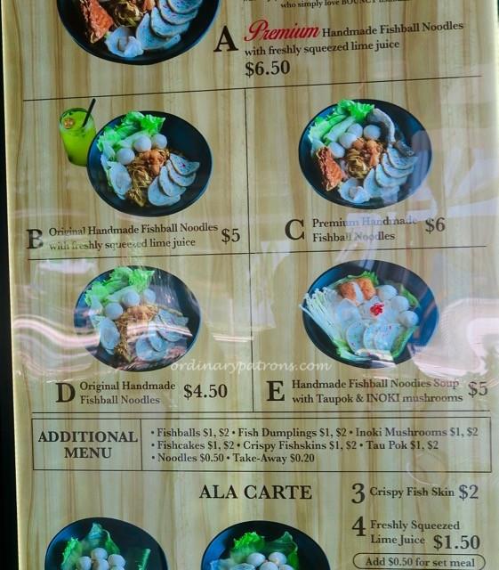 Fishball Story Noodles Timbre + Ayer Rajah - 1