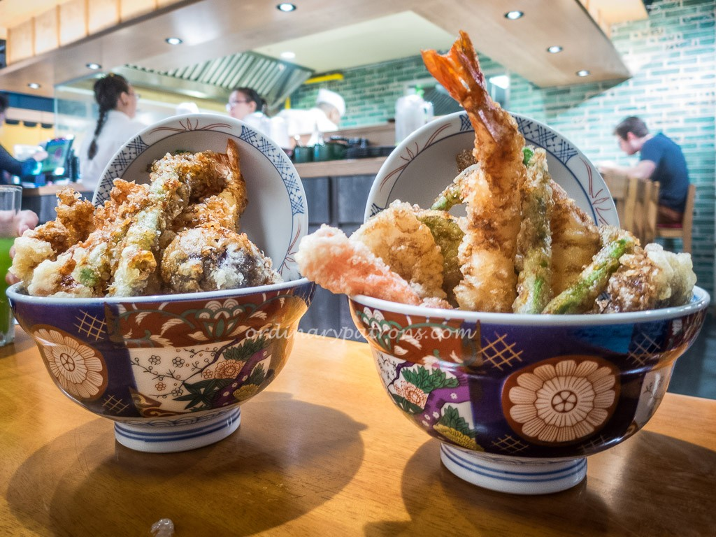 Kohaku Tempura, Eat at 7, Suntec City