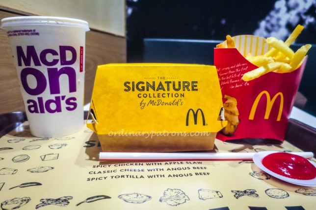 McDonald's Signature Collection