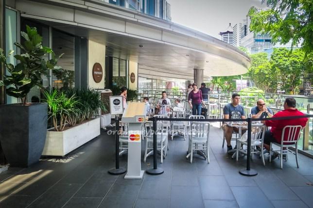 Mandarin Gallery cafe