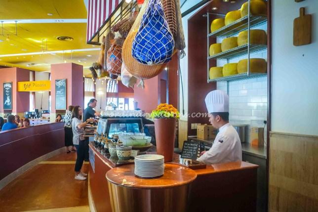 Prego restaurant in Raffles City