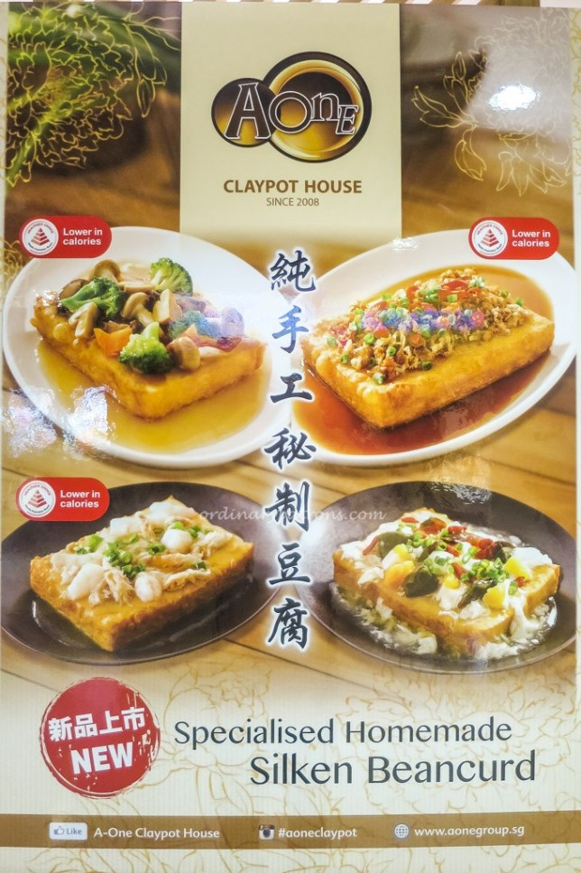 A-One Claypot House Menu
