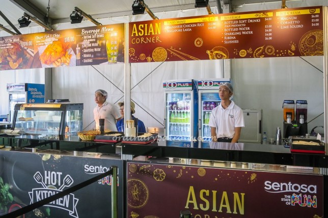 SMBC Singapore Open - Food & Beverages