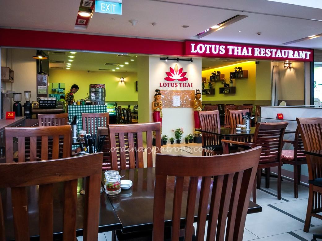 New Lotus Thai Restaurant at Paya Lebar Square