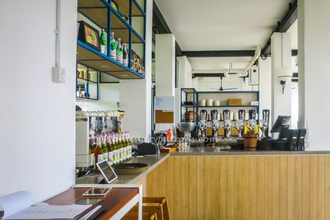 Bar Counter at The Wheeler's Estate