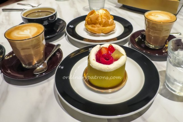 Coffee and dessert at henri charpentier tanjong pagar for Ashiya japanese cuisine menu