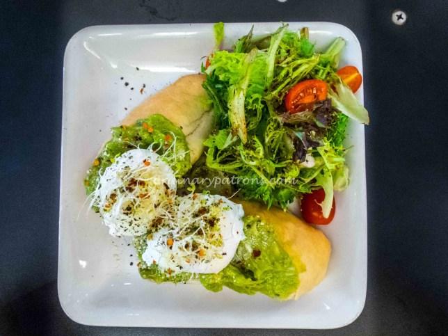 Lunch at The Tiramisu Hero