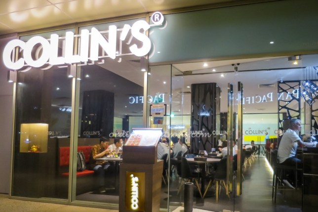 Collin's Restaurant Marina Square