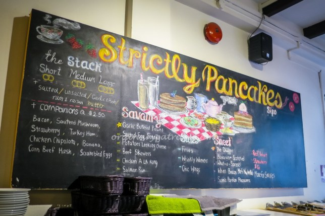 Strictly Pancakes at Prinsep Street