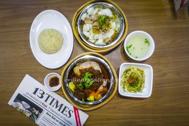 13 Stages Chicken Rice