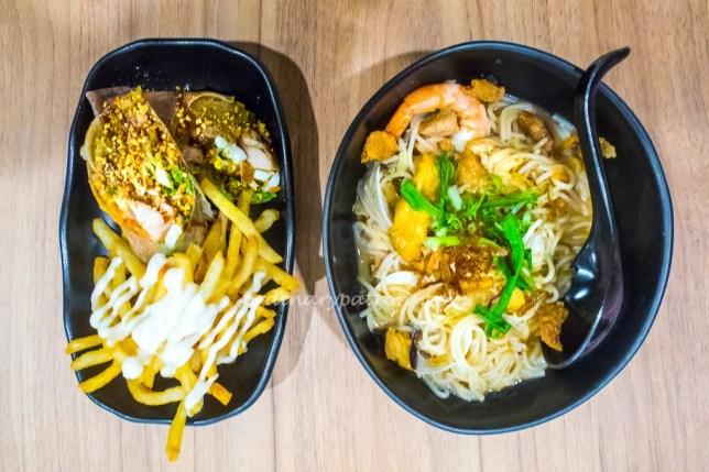 Hawkerman Noodles and Popiah