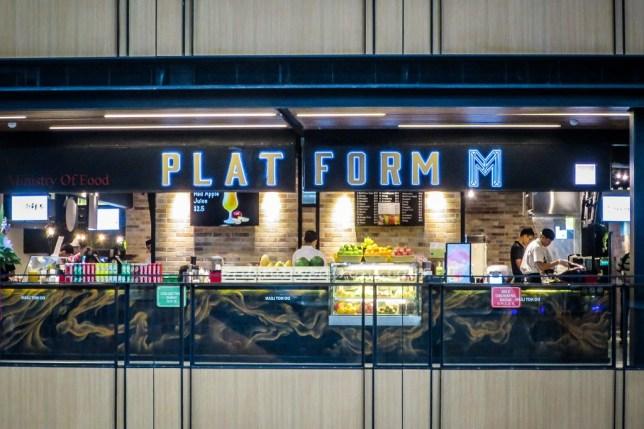 SingPost Centre Platform M