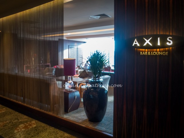 Afternoon Tea at Axis Bar & Lounge, Mandarin Oriental