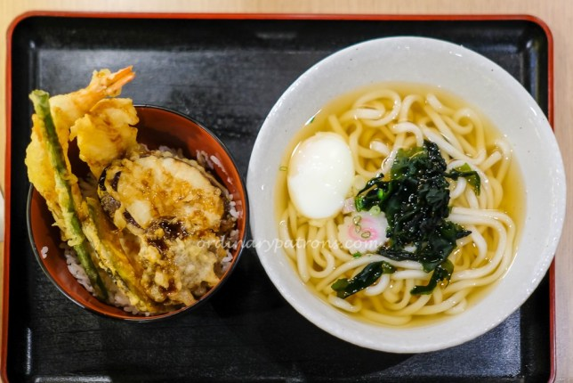 Udon Set at Tensho Centrepoint