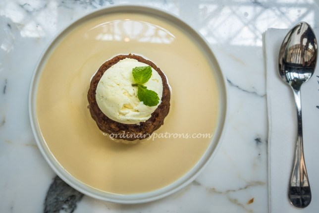 PS. Cafe Ginger Pudding - Eat in Singapore Weekend March 2018 edition