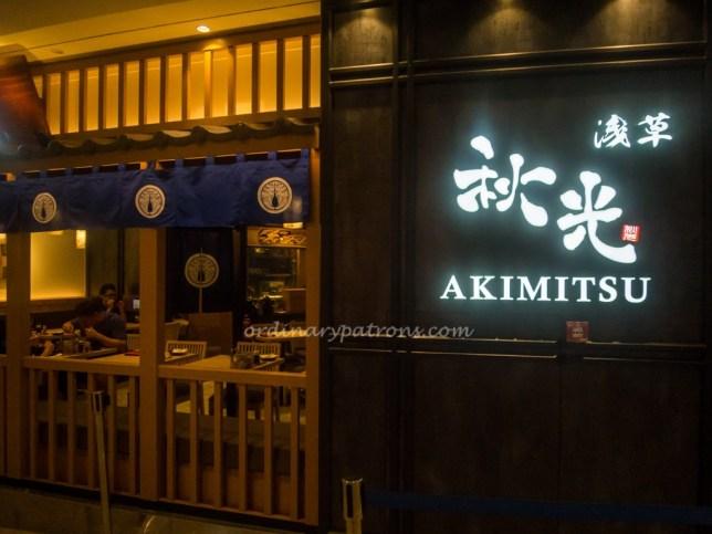 Akimitsu Japanese Restaurant in Plaza Singapura