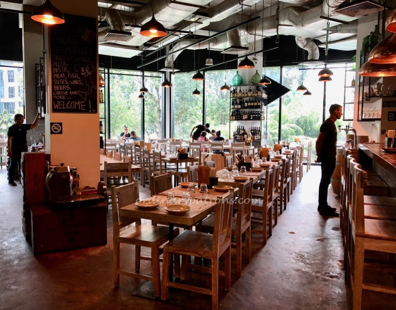 Upper Bukit Timah Italian Restaurant iO Italian Osteria