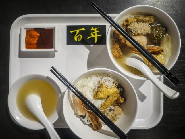 Bai Nian Niang Dou Fu in Bai Nian Food Court Chai Chee