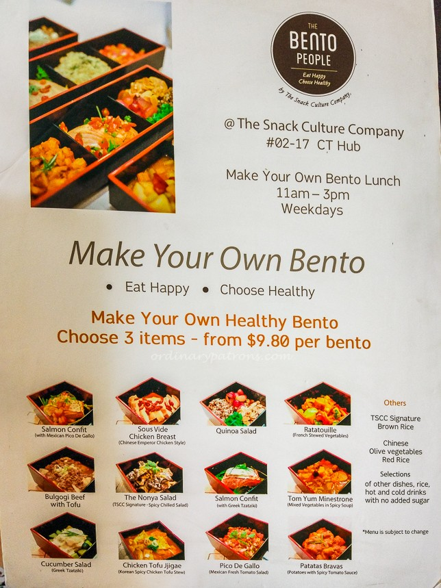 CT Hub Food The Bento People