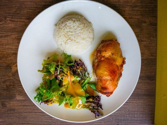 Chicken Cordon Bleu at Grasso