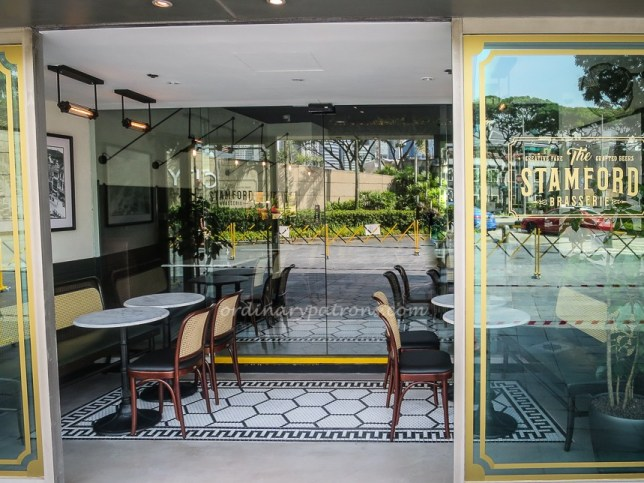 The Stamford Brasserie in Raffles City