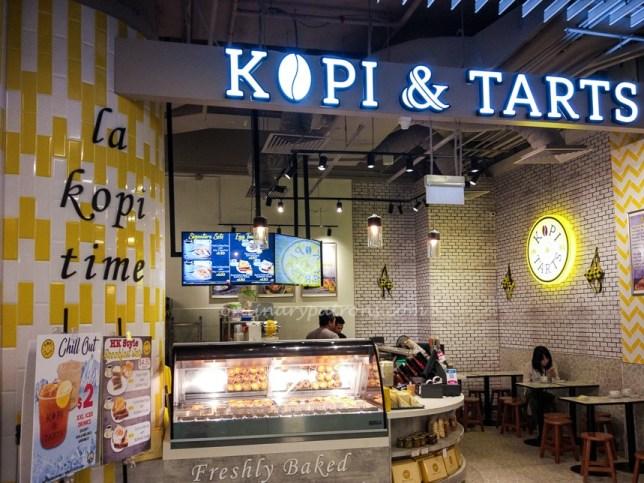 Kopi & Tarts - Eat at Marina One