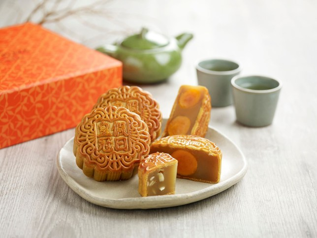 Crowne Plaza Changi Airport Mid-Autumn Mooncake