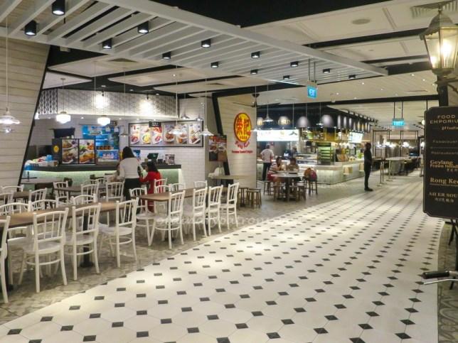 Changi Airport Terminal 4-Food Court