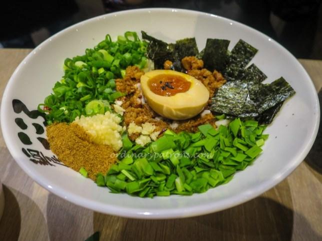Menya Kokoro eat at Seven Suntec City