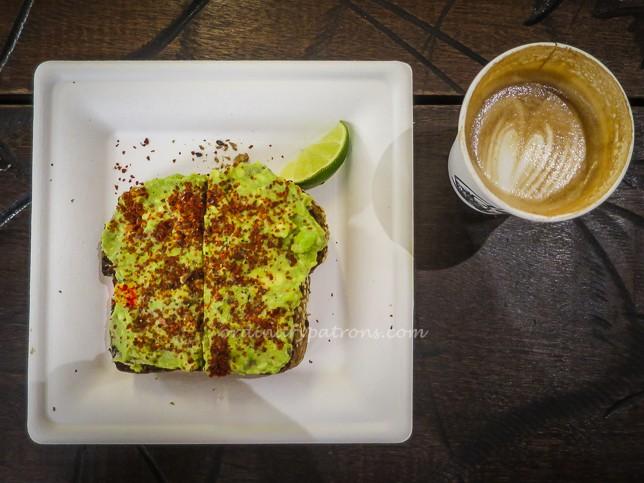 Choice Cuts Goods + Coffee Avo Toast