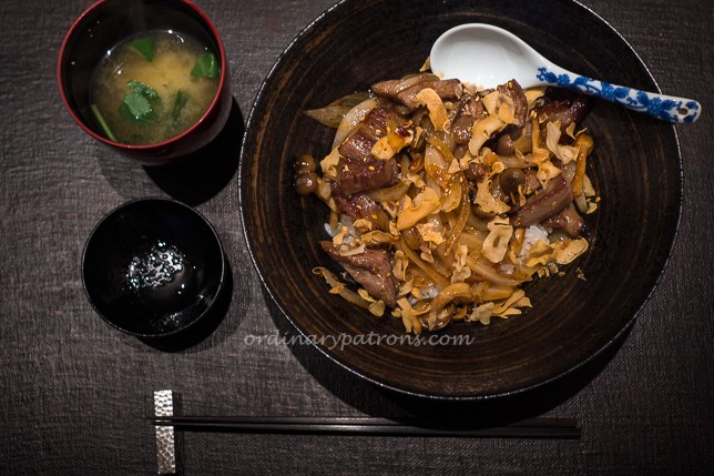 Ishi Singapore Wagyu Beef Don Set
