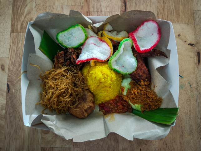 Tok Tok Indonesian Soup House Nasi Kuning