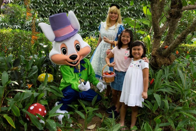 Easter Wonderland with Alice and Friends at Melt Café