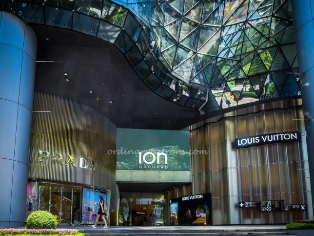 Eat at ION Orchard