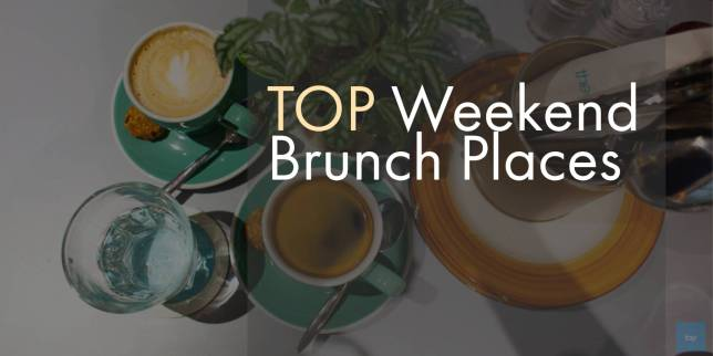 Weekend brunch places