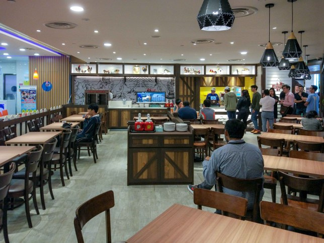 Singpost Centre  Chic A Boo by Astons