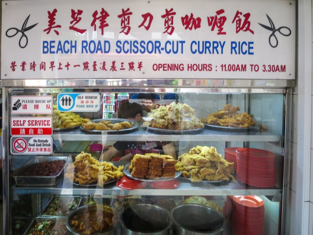 Beach Road Scissor-Cut Curry Rice