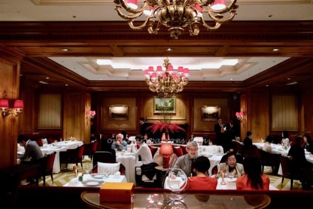 La Baie French Restaurant, RItz Carlton Hotel Osaka Japan