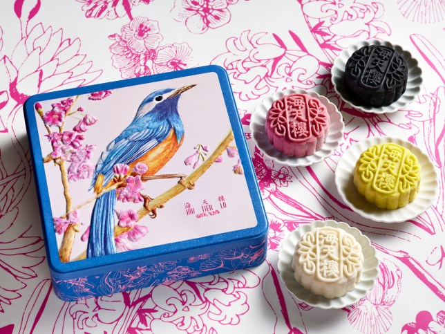 Hai Tien Lo - Pathlight School beautiful gift tin box for Mooncake Festival 2019