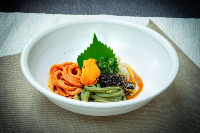 Udon Kamon Presents Tricoloured All-Natural Udon Offerings