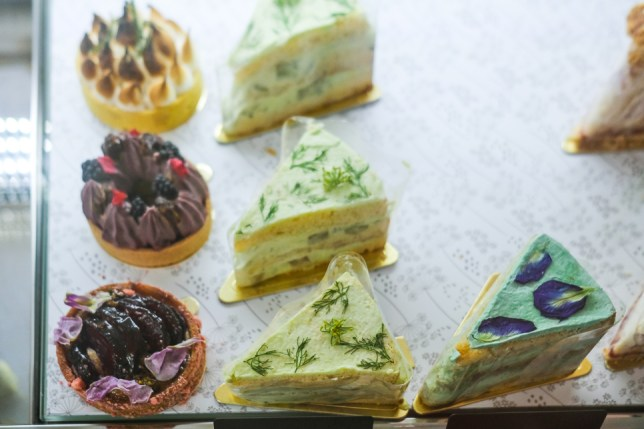 Wildseed Cafe cakes