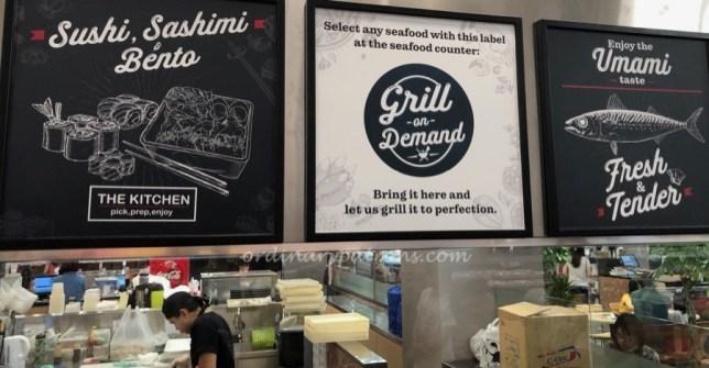 Fairprice Xtra Vivo City Seafood on Demand