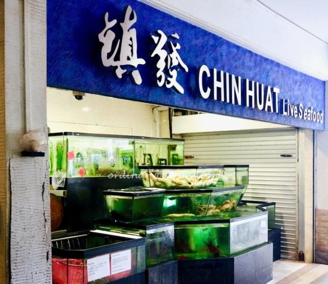 Chin Huat Live Seafood 镇发活海鲜 Sunset Way