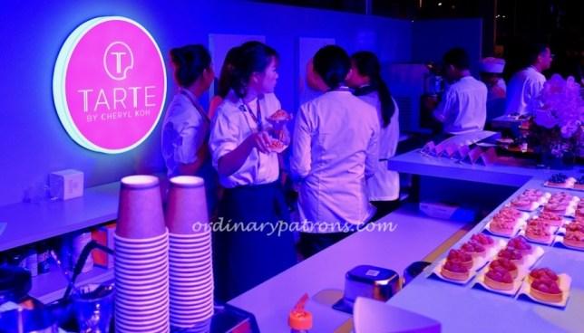 Tarte by Cheryl Koh at Singapore 2019 Grand Prix F1 Paddock Club Food