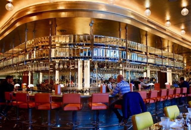 Brasserie of Light Selfridges bar counter