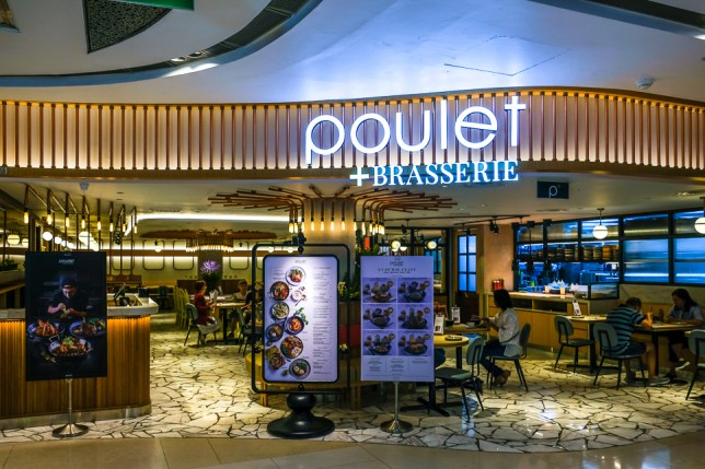Poulet + Brasserie ION Orchard
