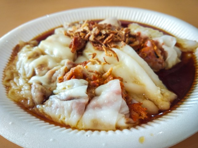 Freshly Made Chee Cheong Fun (现做现卖猪肠粉) Old Airport Road Food Centre
