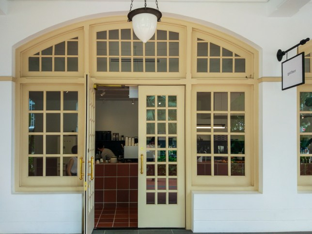 Gather where Ah Teng's Cafe used to be in Raffles Hotel